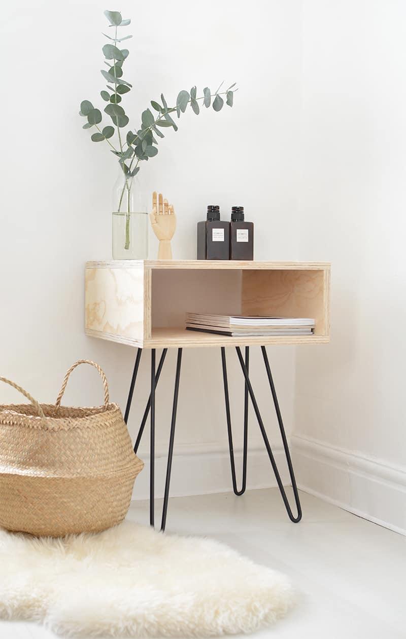 Boxy mod nightstand