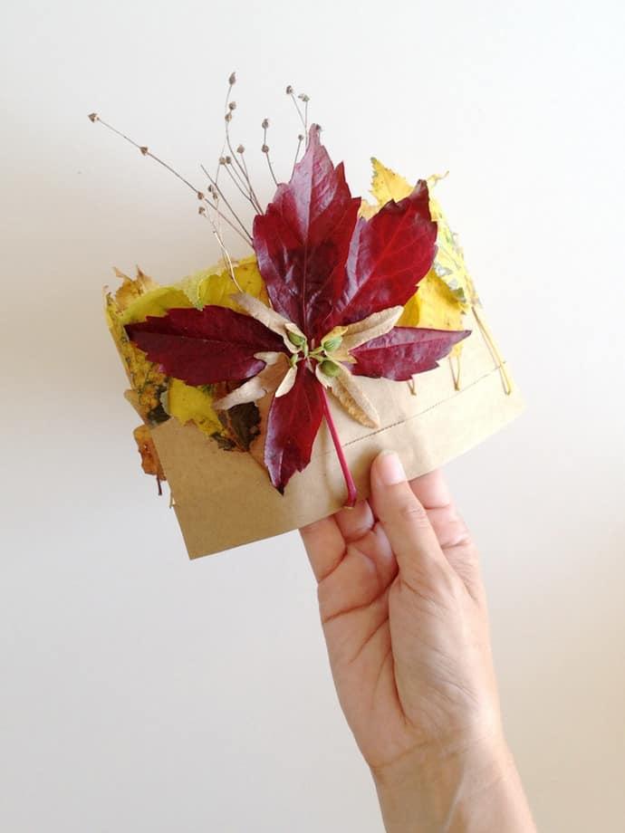 DIY leaf crowns
