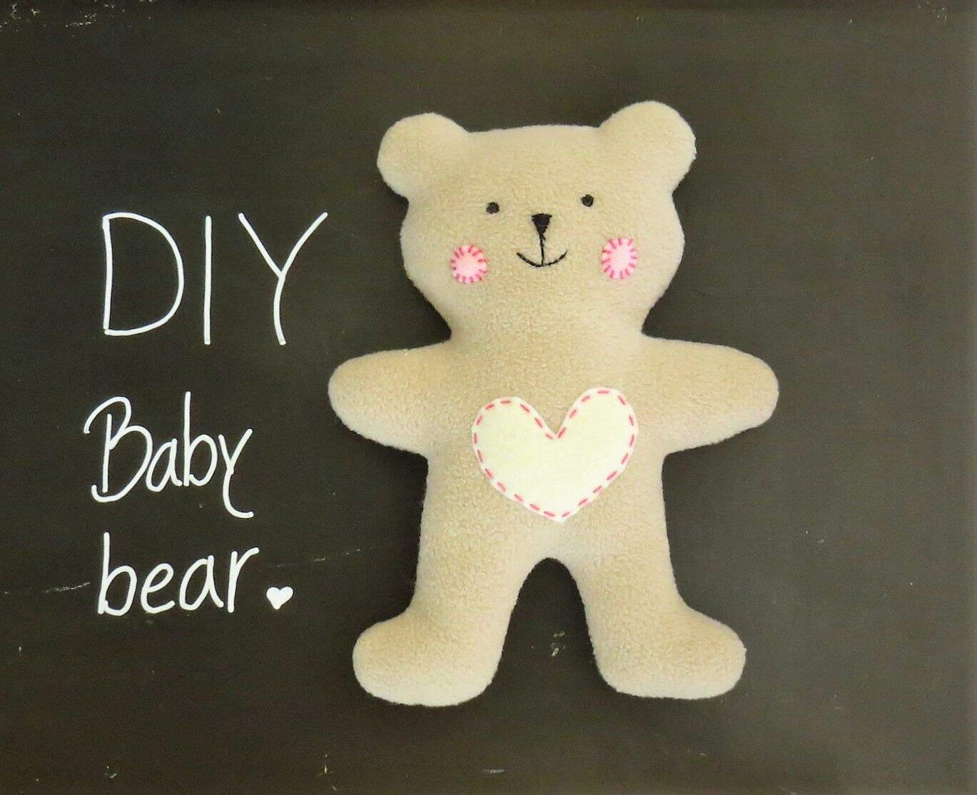 Flat baby bear