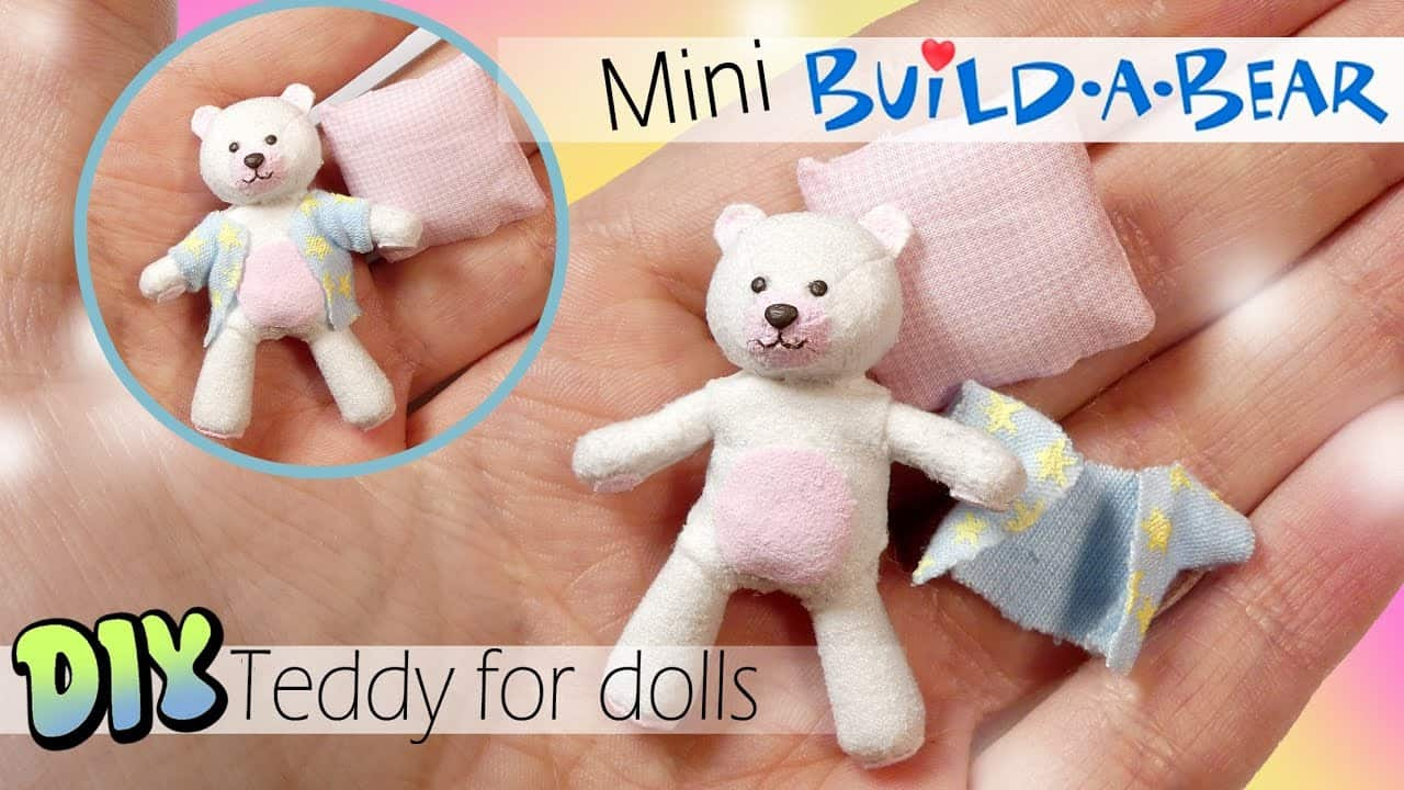 Mini Build-A-Bear with clothes
