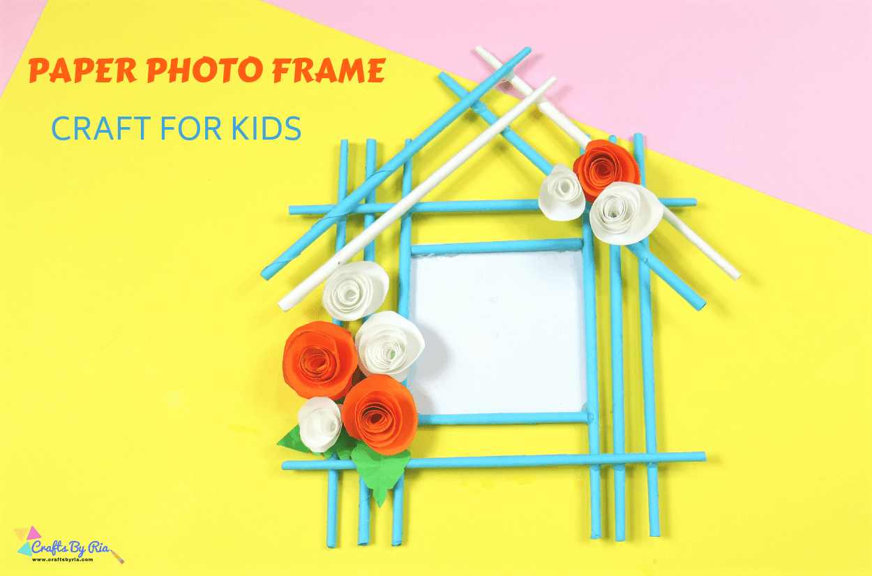 Rolled paper house frame