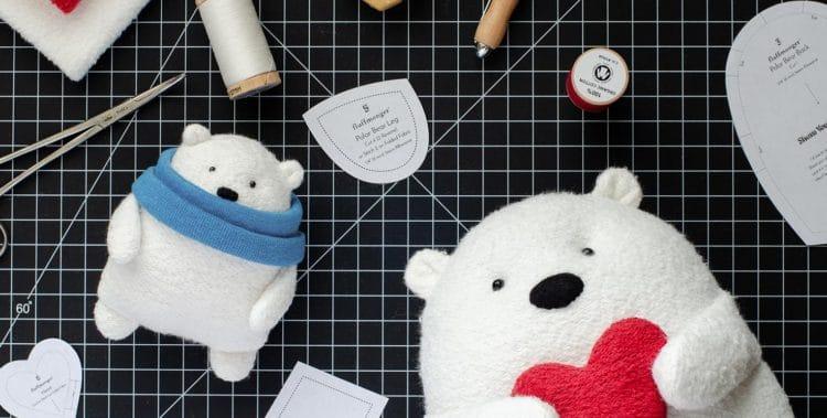 Soft polar bear