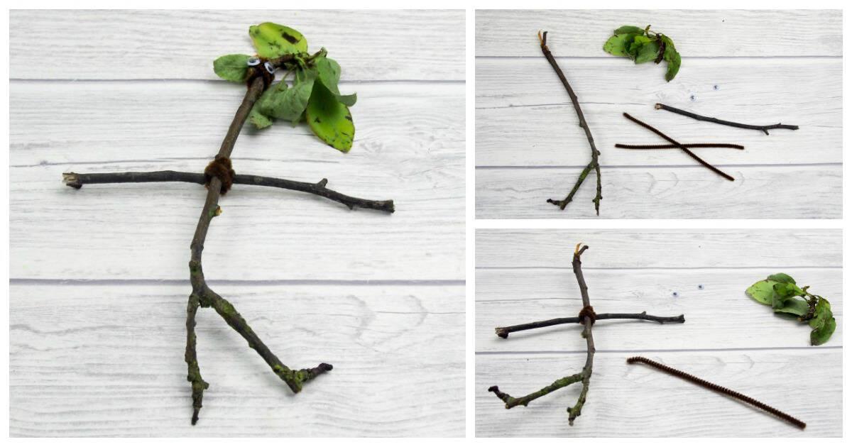 Stick and leaf people