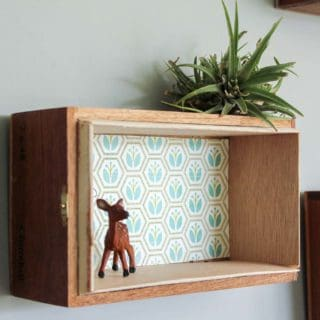 15 Unique Homemade Trinket Shelves Design Ideas