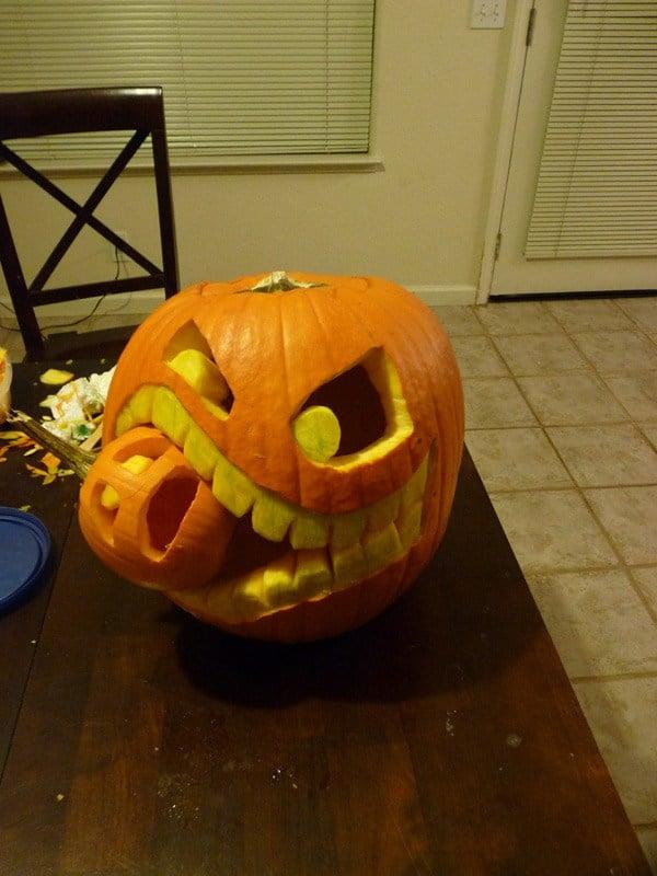 Advanced cannibal pumpkin