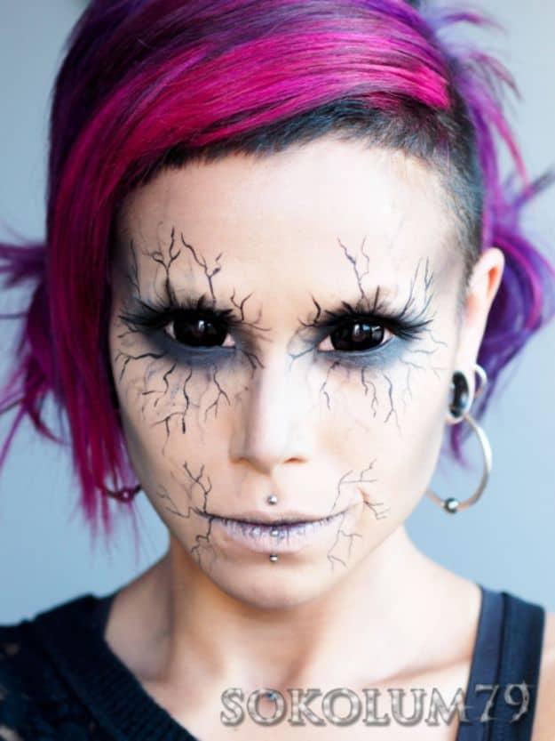 Angel of death makeup