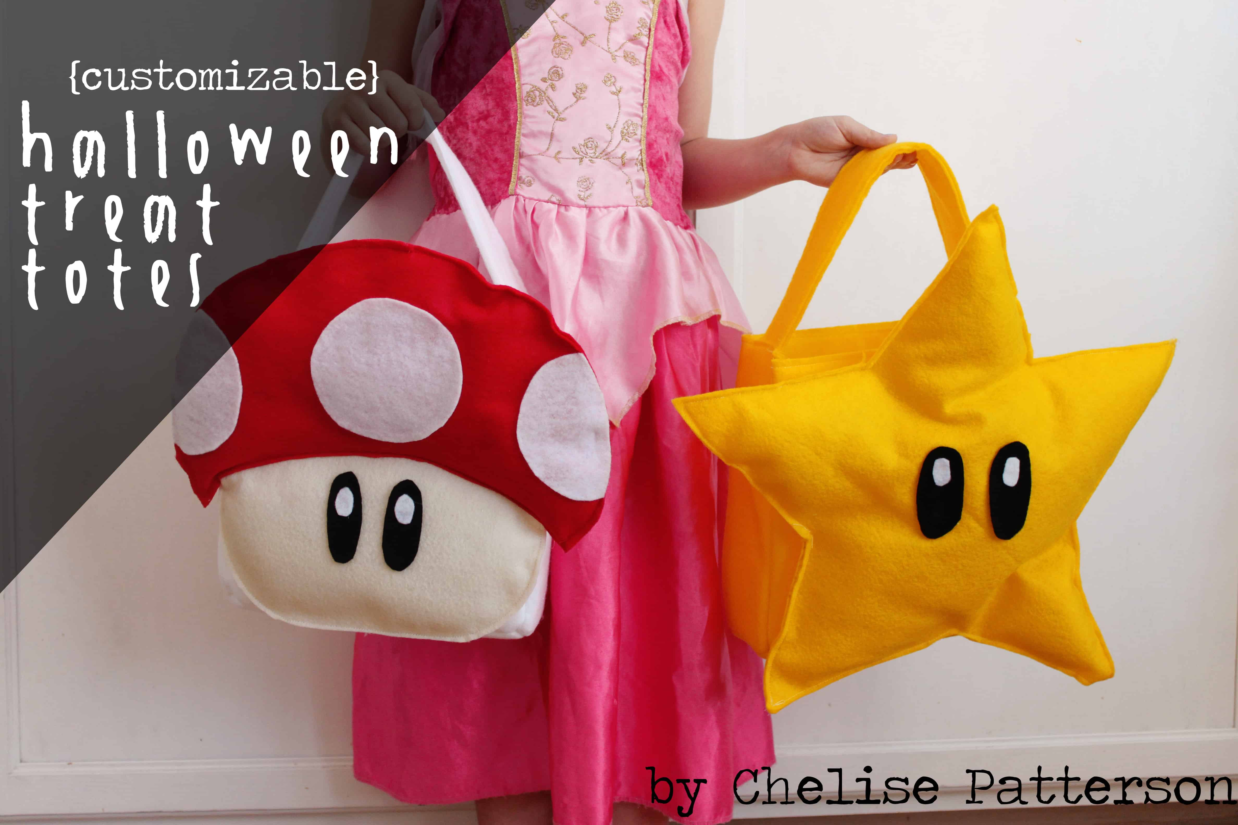 Custom Super Mario World themed treat bags