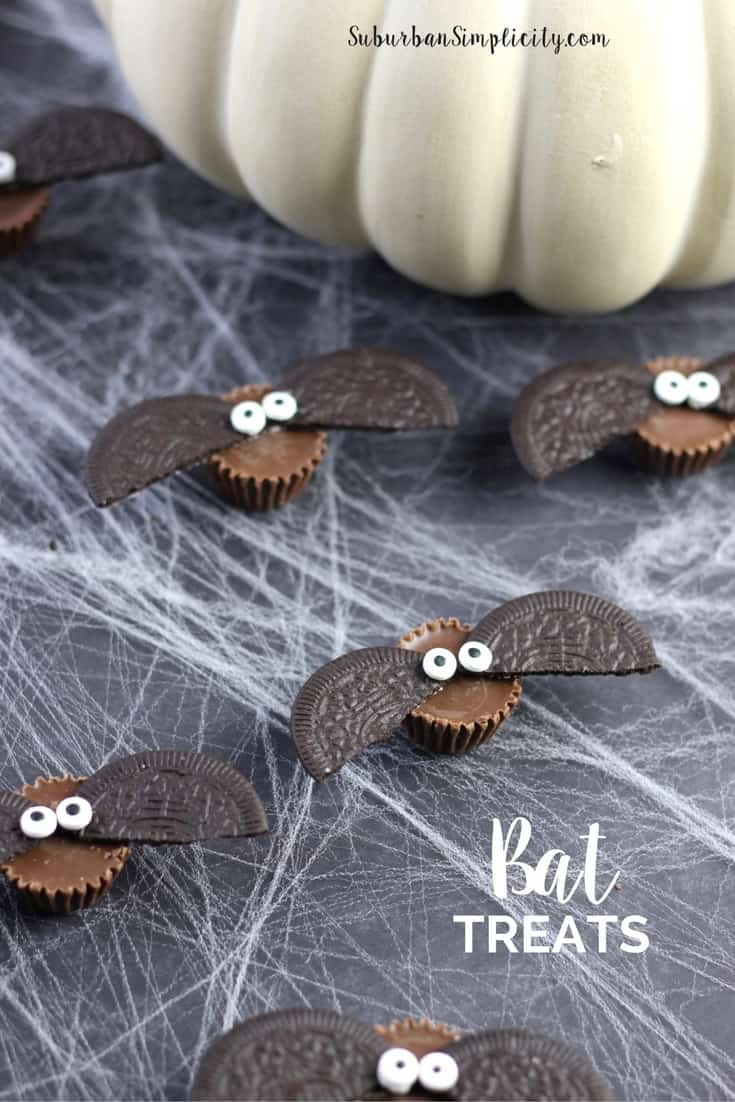 Cute candy bat treats