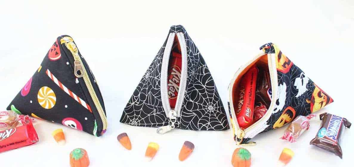 DIY loot bag candy pockets