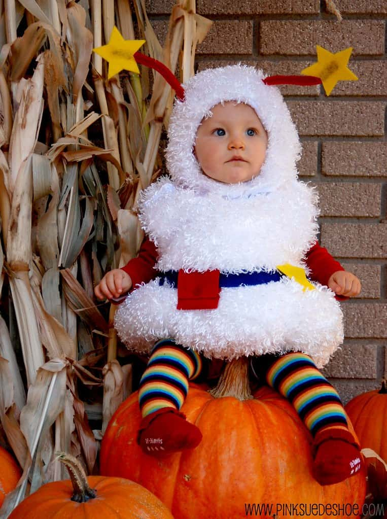 Fluffy twink from Rainbow Bright 15 DIY Halloween Costumes for Babies