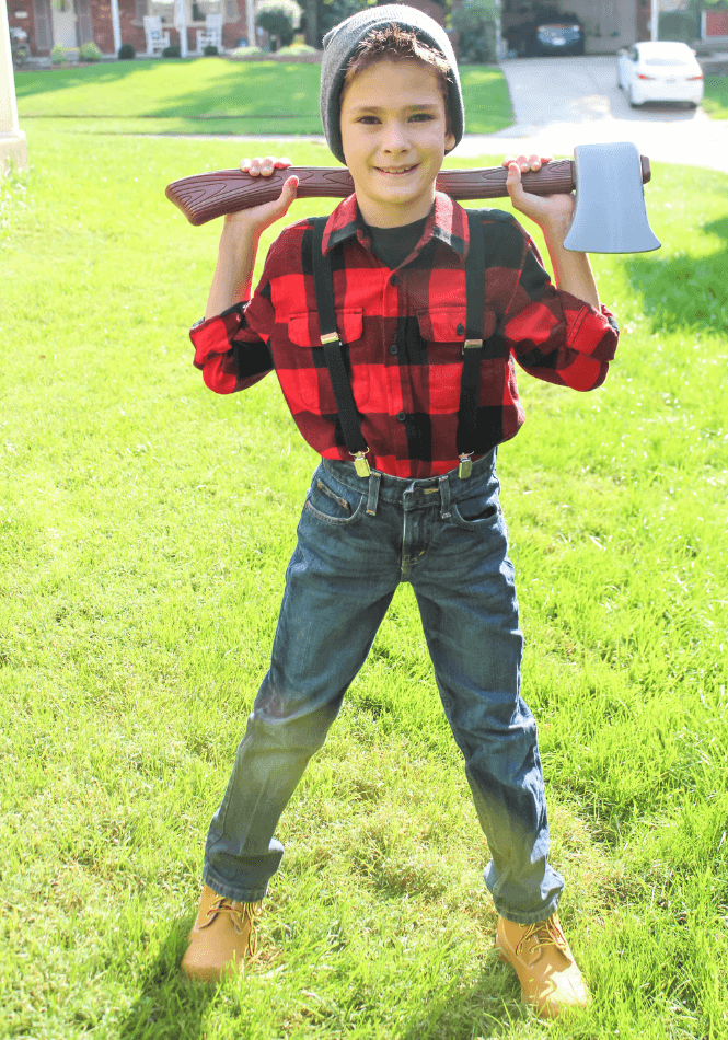 Kids lumberjack costume 15 Coolest Halloween Costumes for Tweens