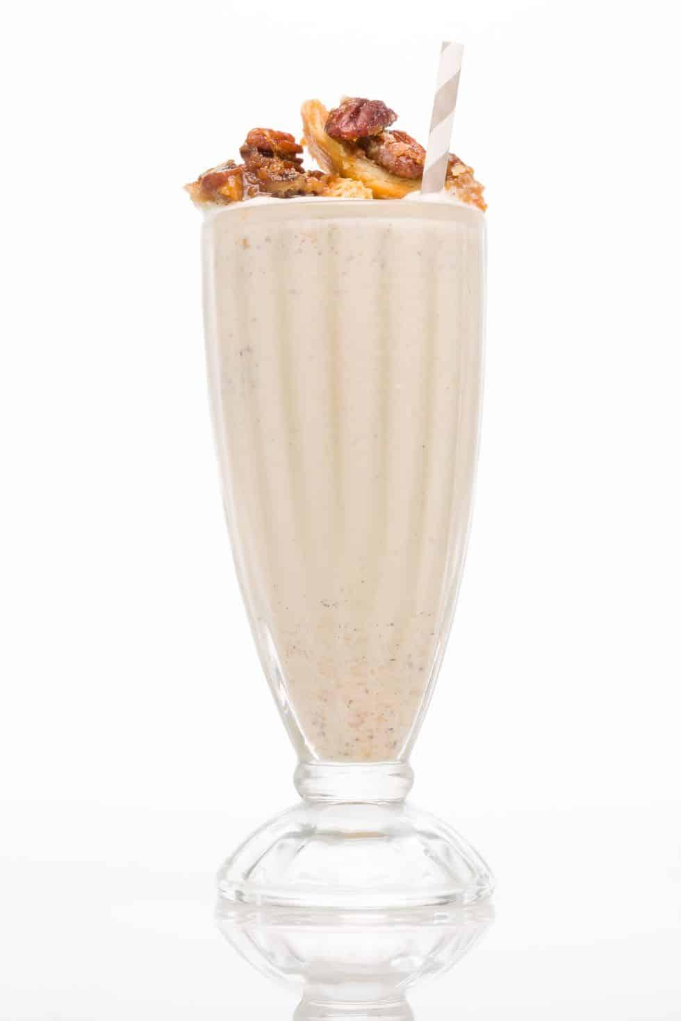 Pecan pie bourbon shake