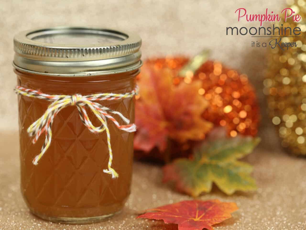 Pumpkin pie moonshine