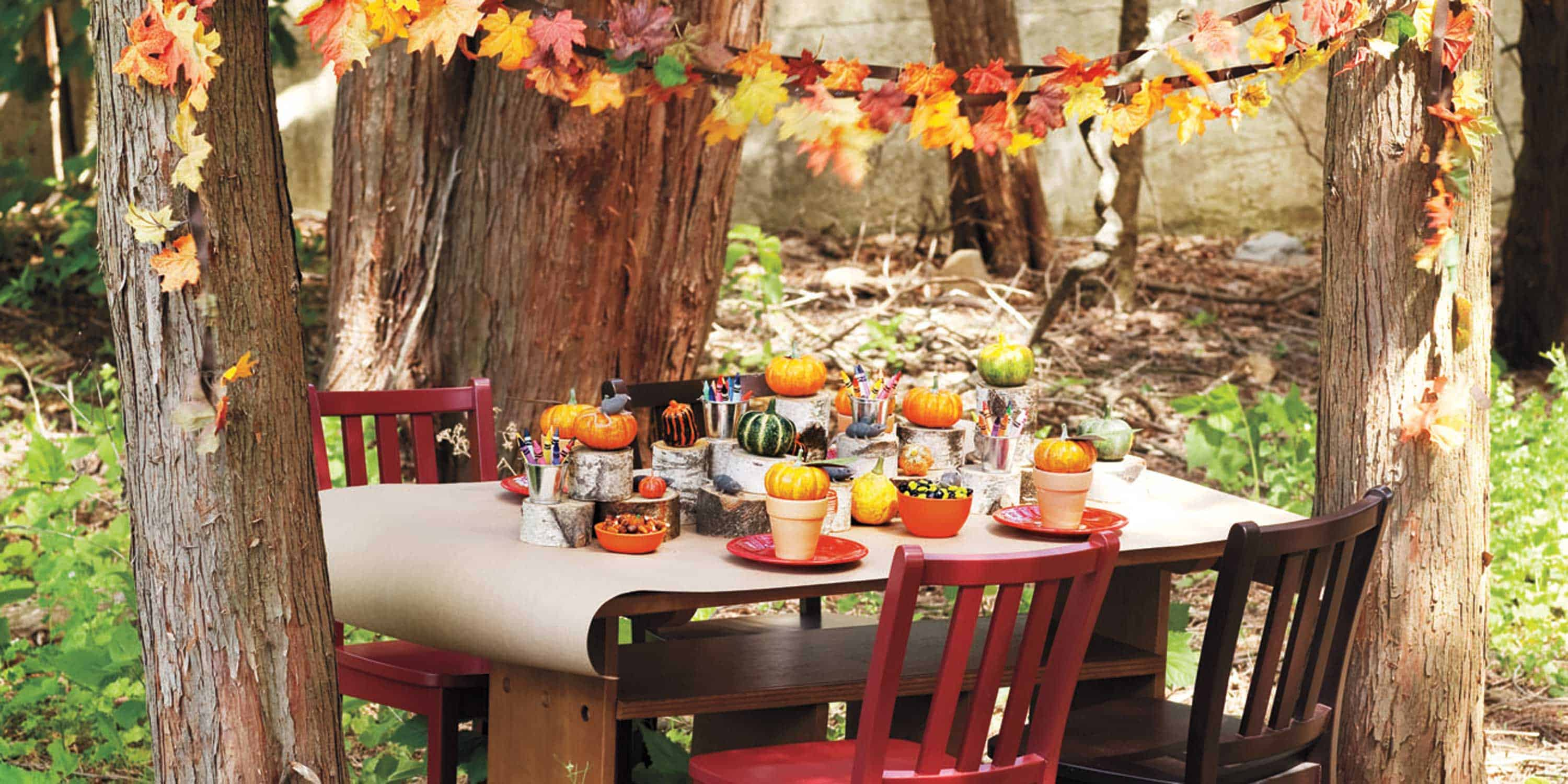 Put together and host a harvest dinner party