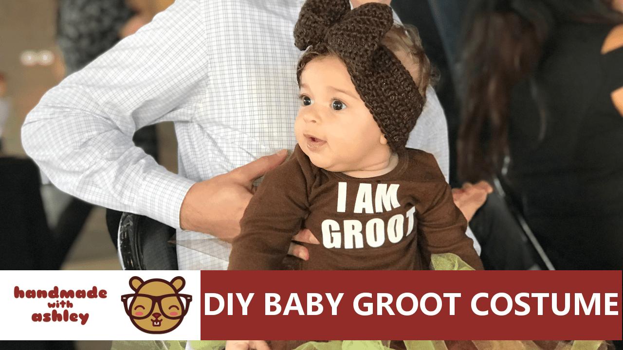 Simple DIY baby Groot