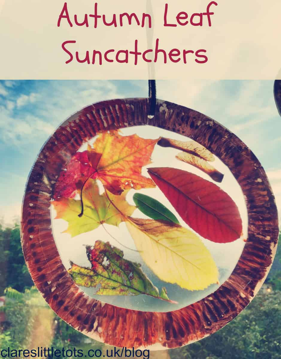 Autumn leaf sun catchers 15 Fall Crafts for Kids With Creative Minds