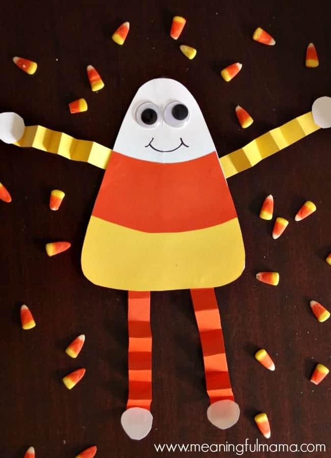Candy corn man