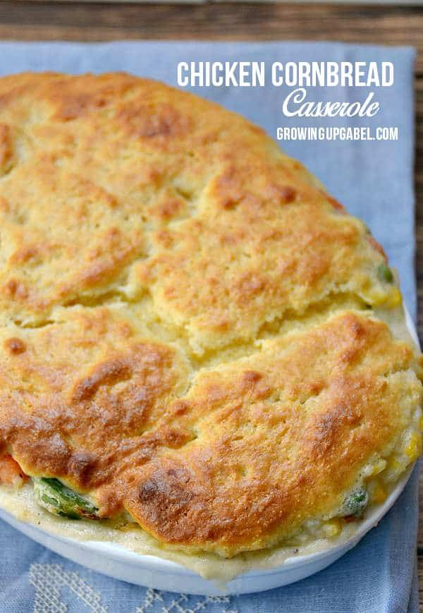 Cornbread chicken casserole