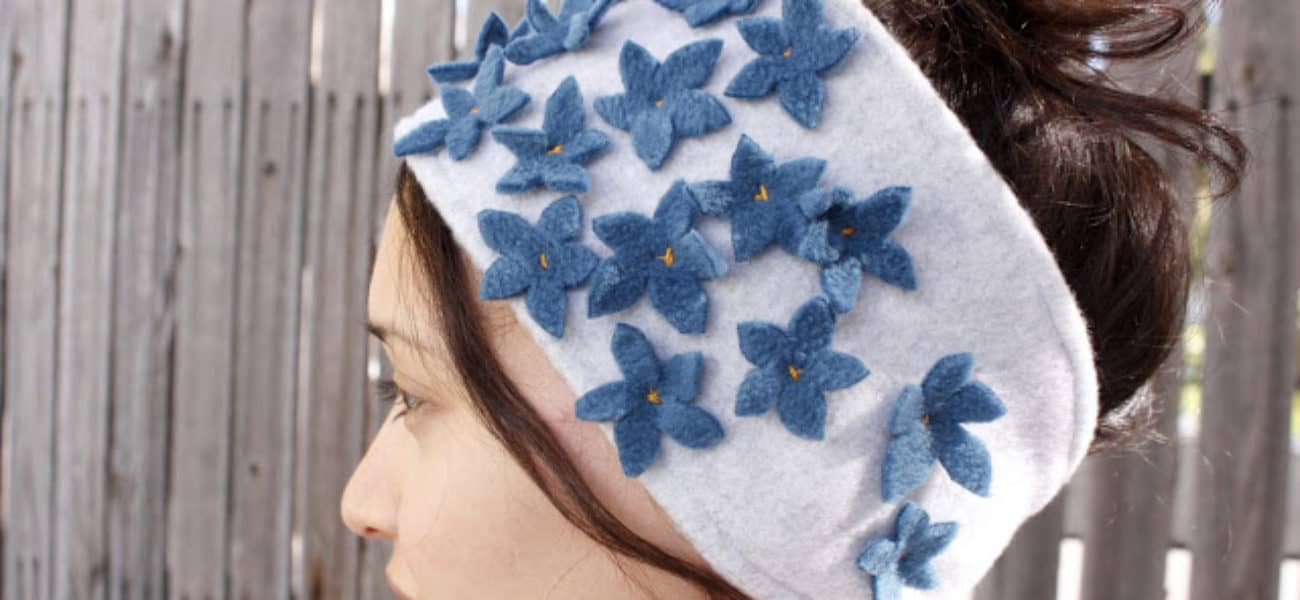 15 DIY Handcrafted Headbands and Ear Warmers