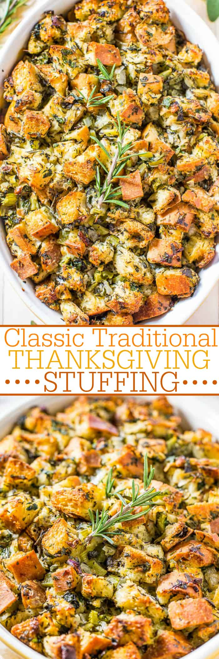 French bread sage and onion stuffing