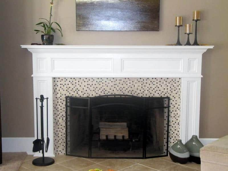 How to build a full fireplace from scratch