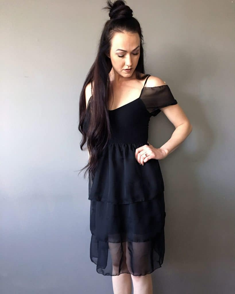 Little black dress makeover