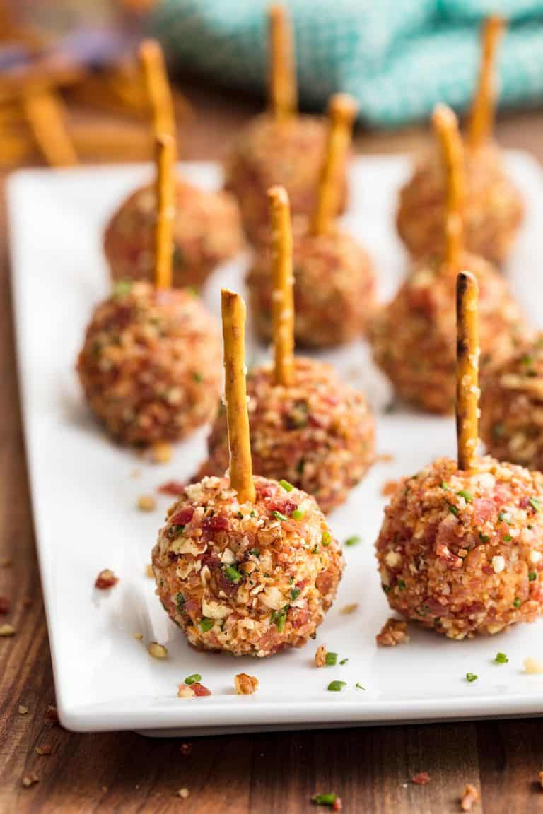Tasty cheeseball bites