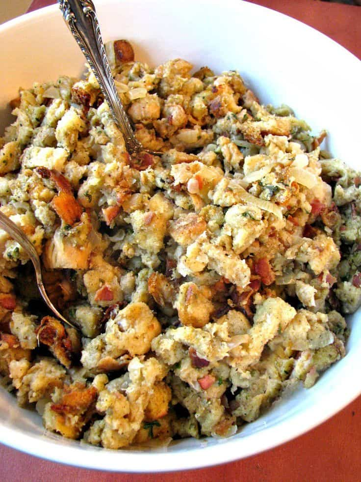 Traditional sage and onion stuffing