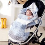 15 DIY Winter Pram and Stroller Blankets