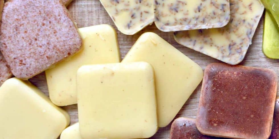 DIY lotion bars for dry winter weather