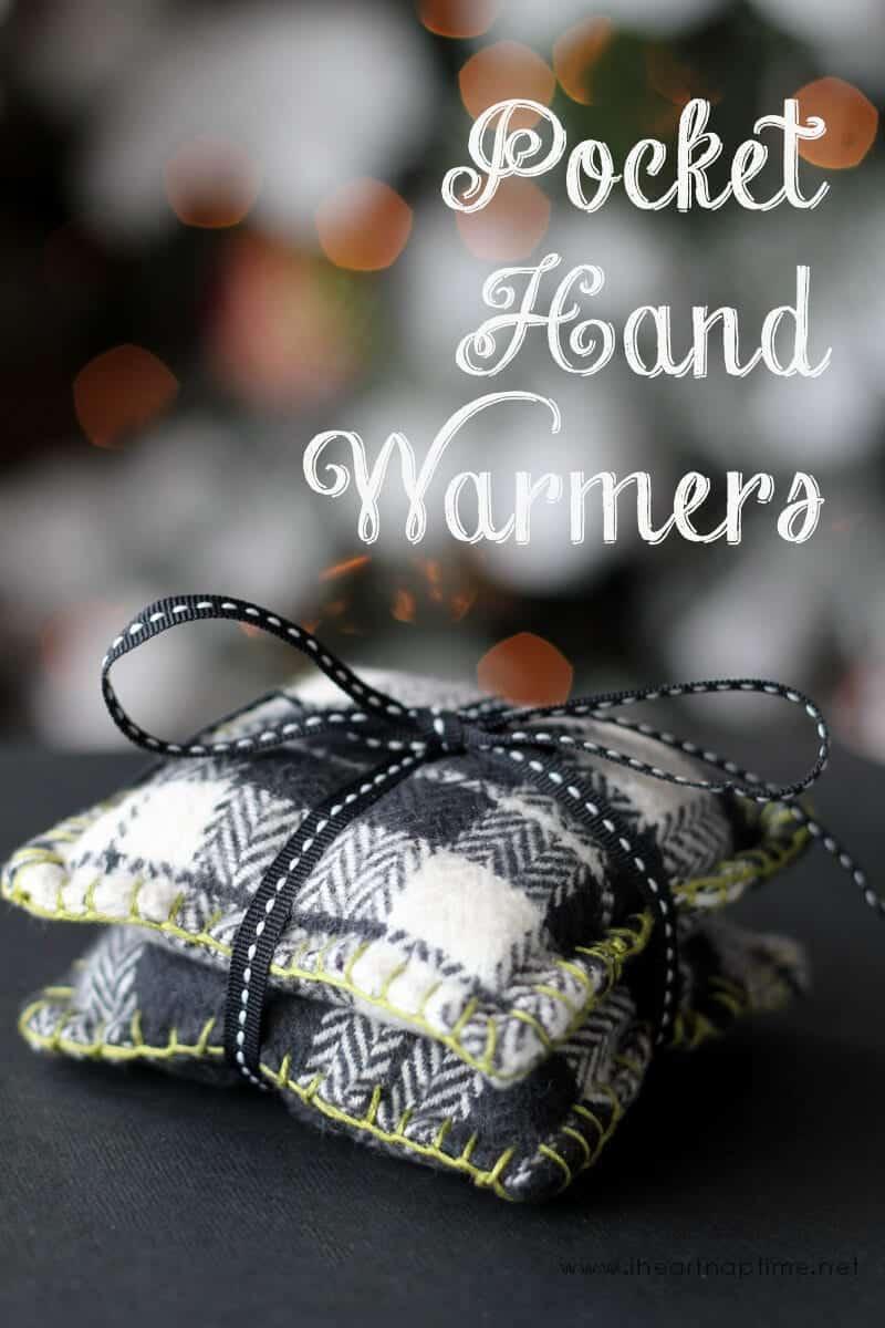 DIY pocket hand warmers