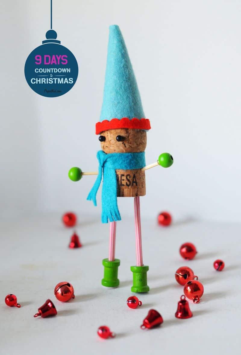 Happy cork elf