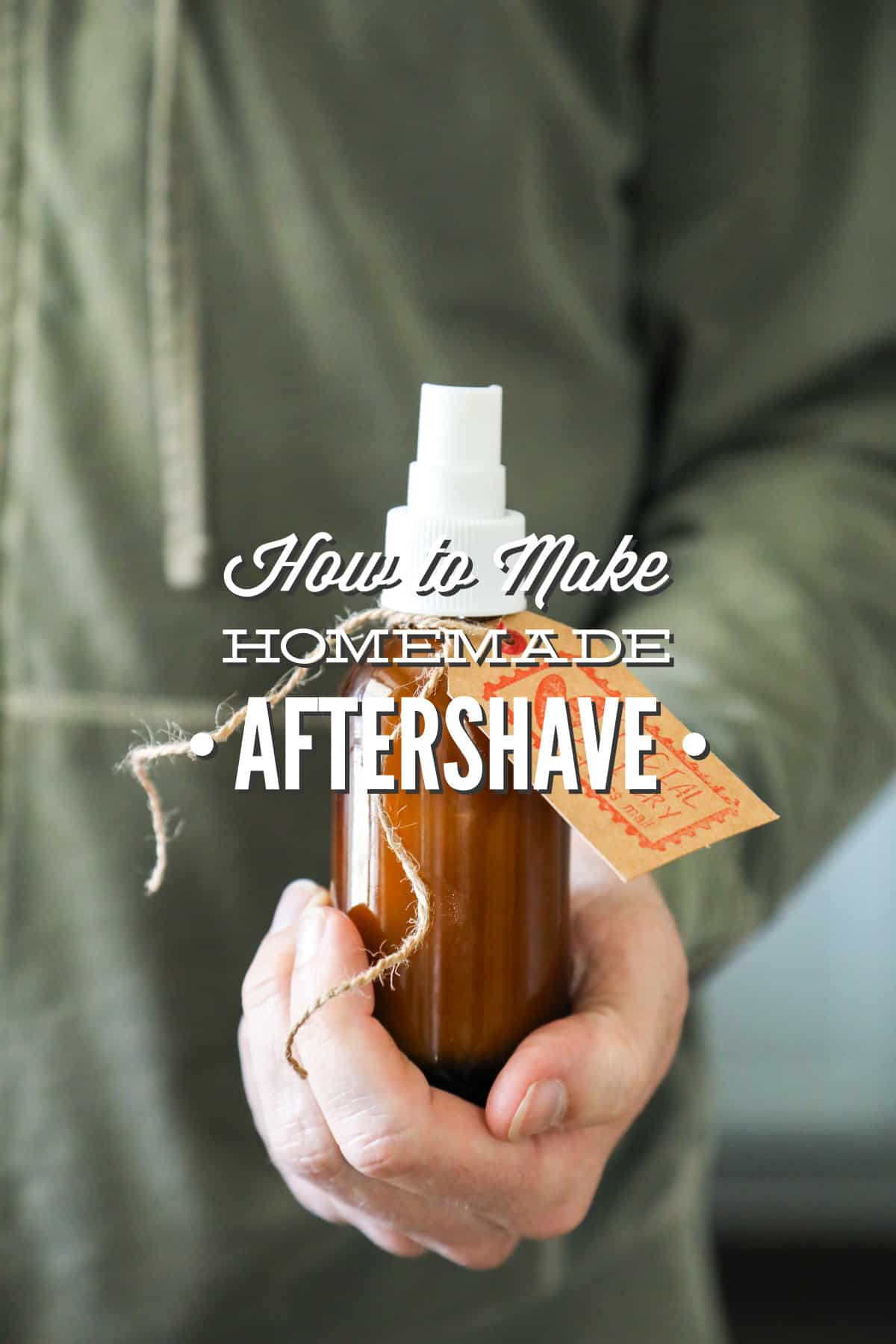 Homemade natural after shave