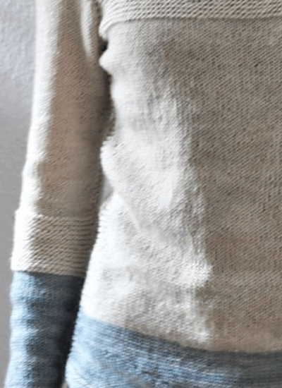 Knitted Anlter pullover