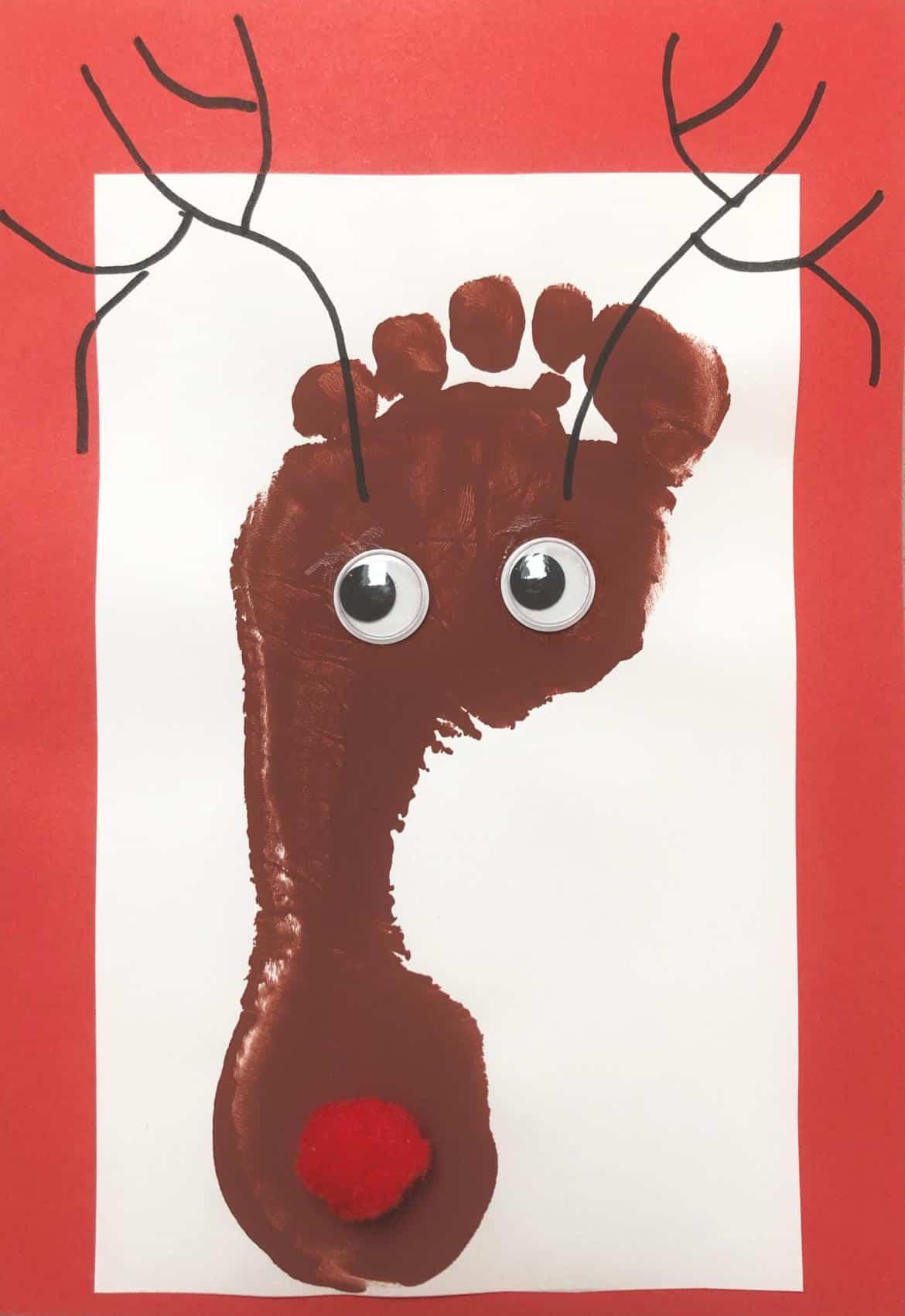 Reindeer footprint craft