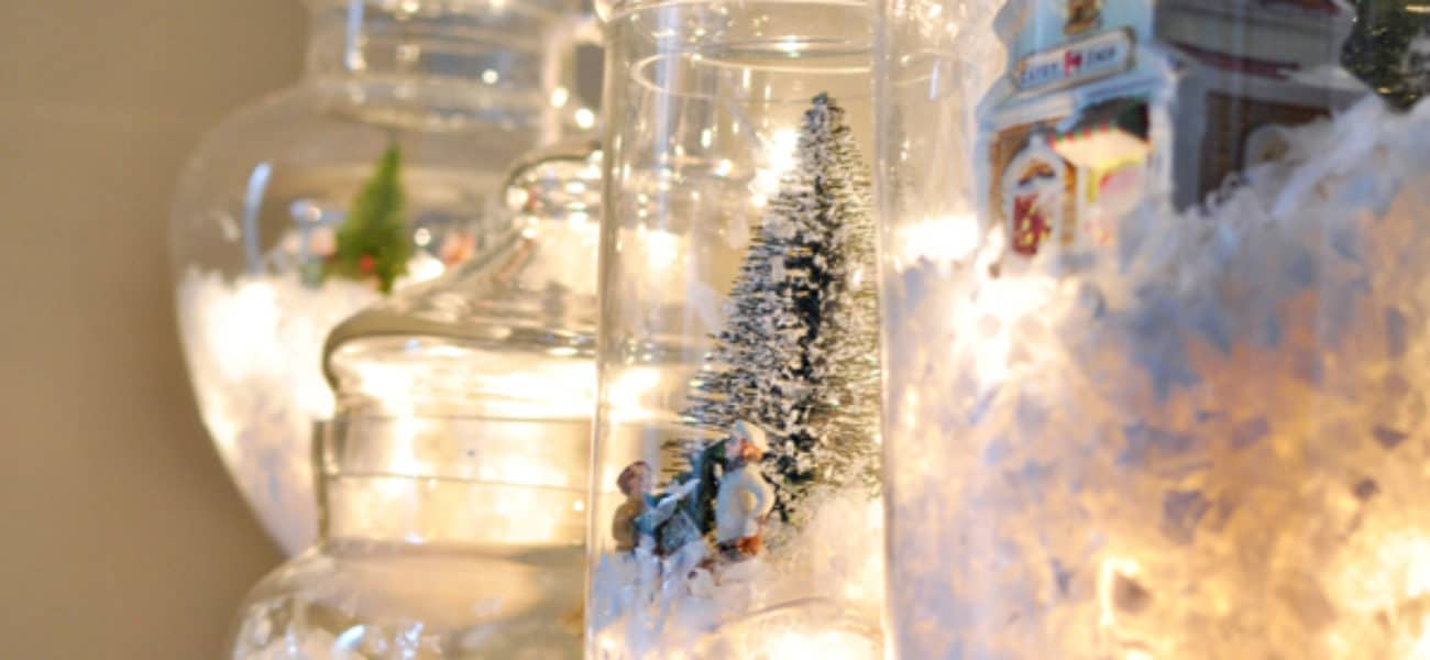 15 DIY Snow Globes to Craft with Your Kids