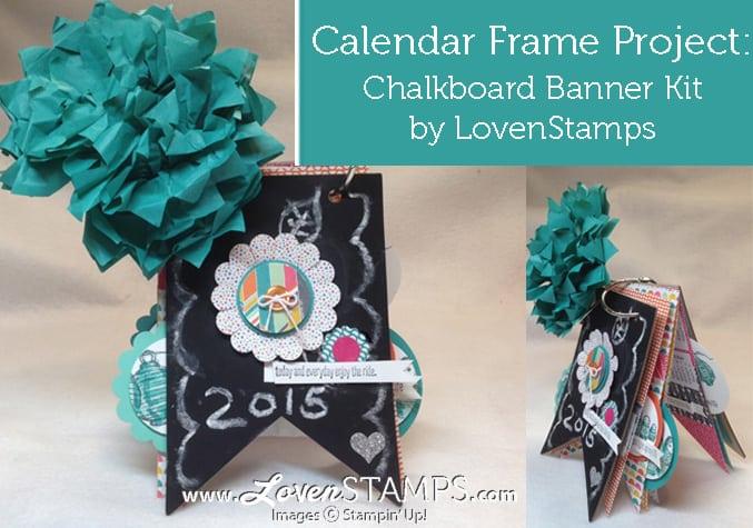 Calkboard desktop calendar Make Your Own Calendar   15 DIY Calendar Ideas