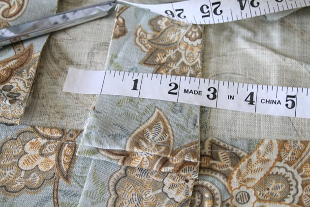 DIY curtains from tablecloths
