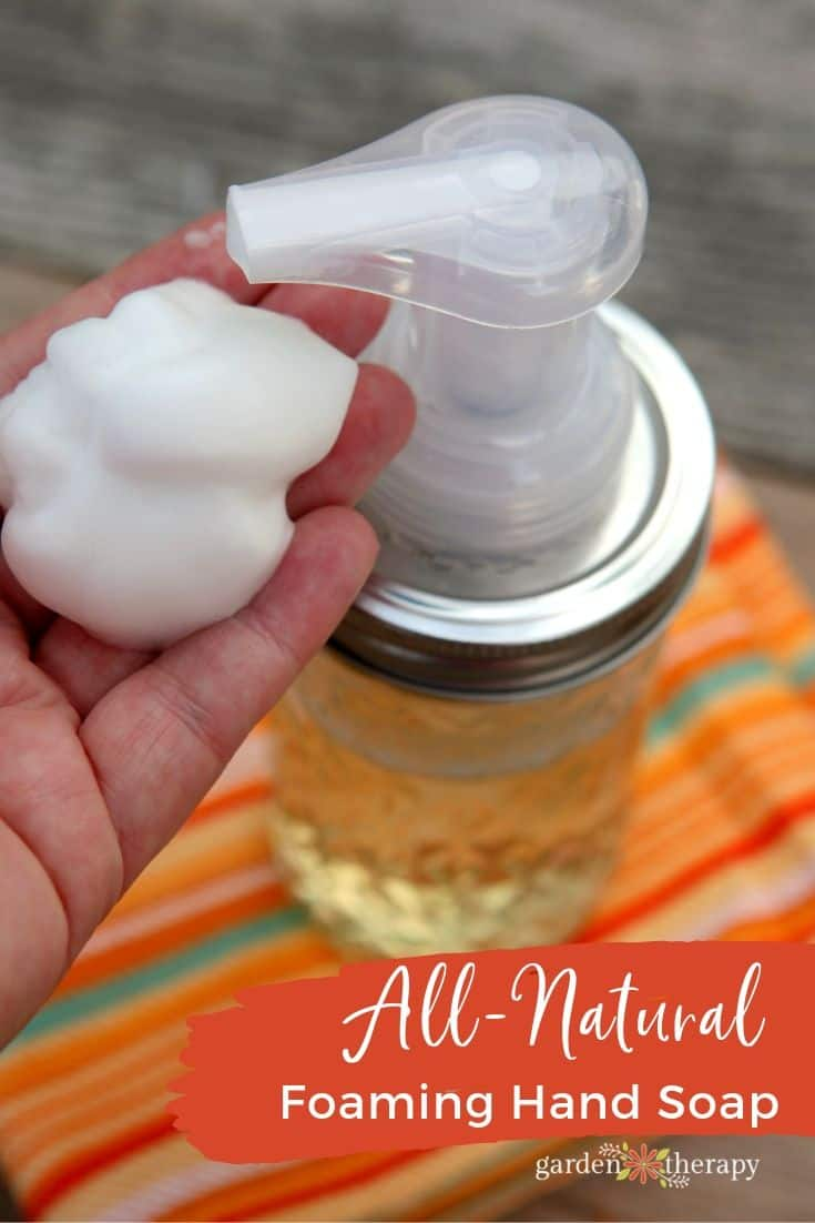 Homemade all natural foaming hand soap Homemade Soap   15 Great Ideas & Scents For DIY Soap