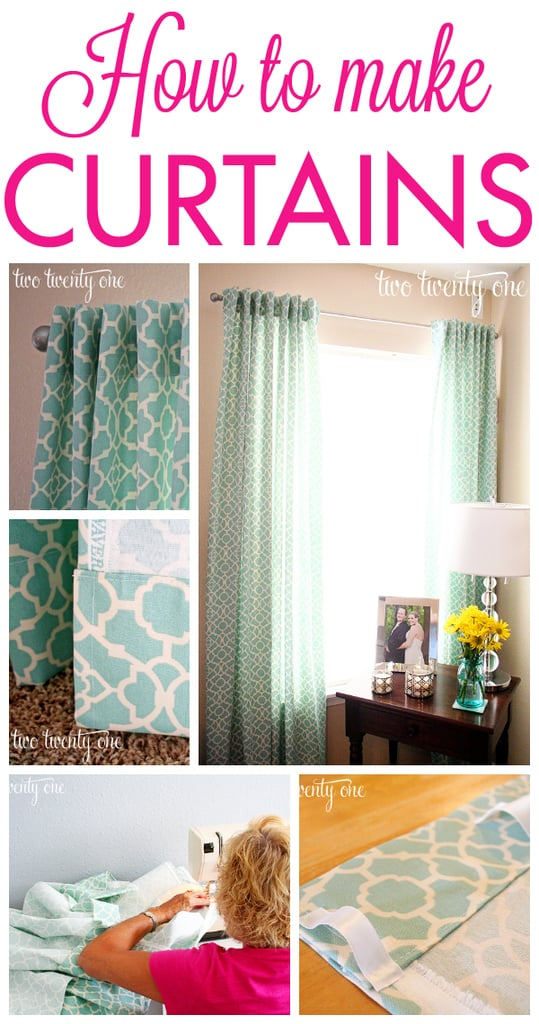 How to make traditional curtains