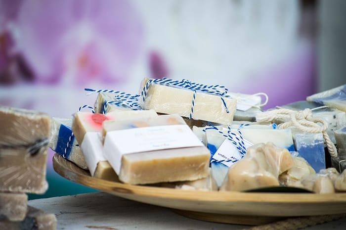 Tea tree oil soap for acne prone skin