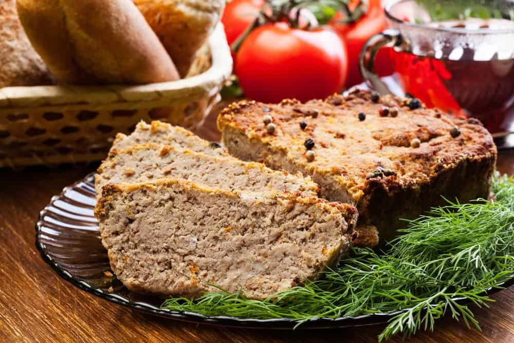 Air fryer maple and black peppercorn meatloaf