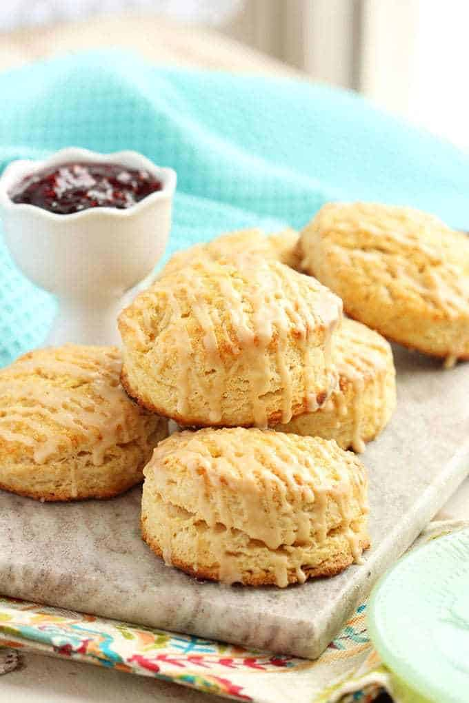 Bailey's Irish cream scones