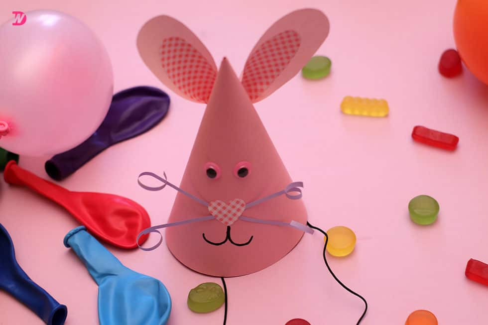 Craft Bunny Party Hat