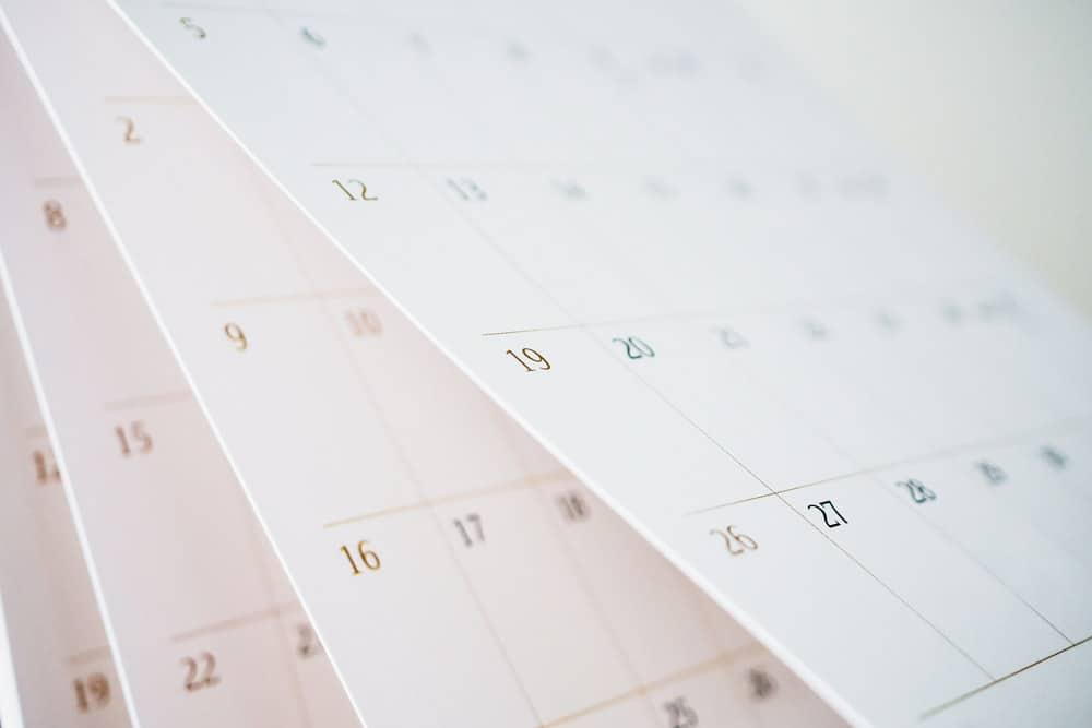 DIY Calendar Ideas Make Your Own Calendar   15 DIY Calendar Ideas