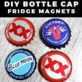 15 Bottle Cap Crafts Ideas to Start Doing