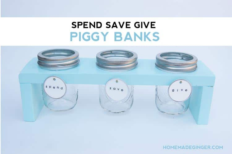 DIY budgeting piggybank