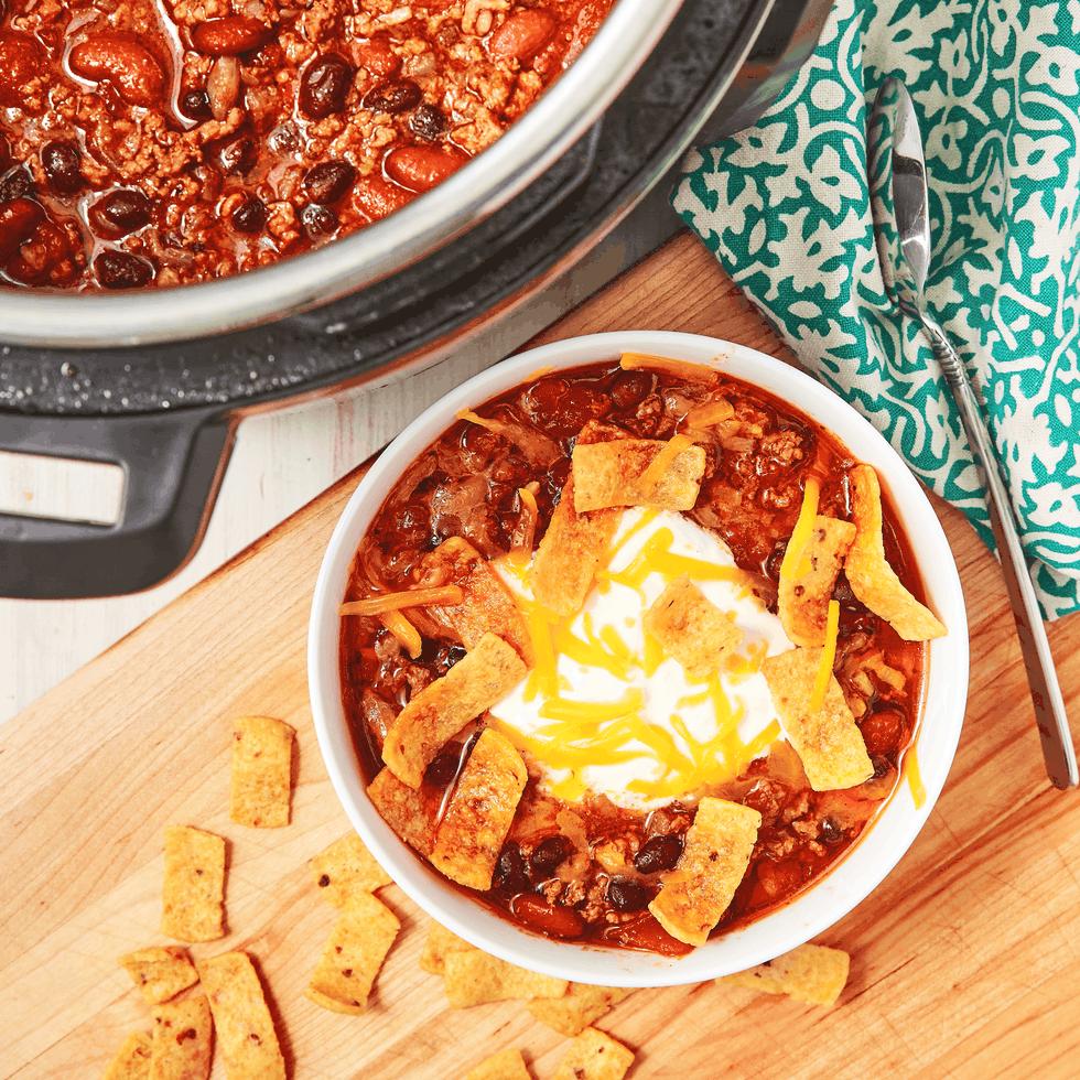 Instant pot chili 15 Best Instant Pot Recipes Weve Tried