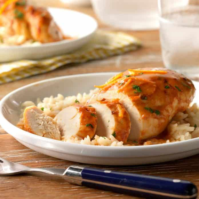 Instant pot orange chipotle chicken