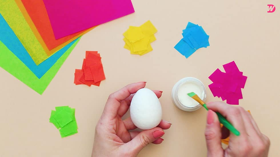 Paper Maché Easter Eggs Picture-09